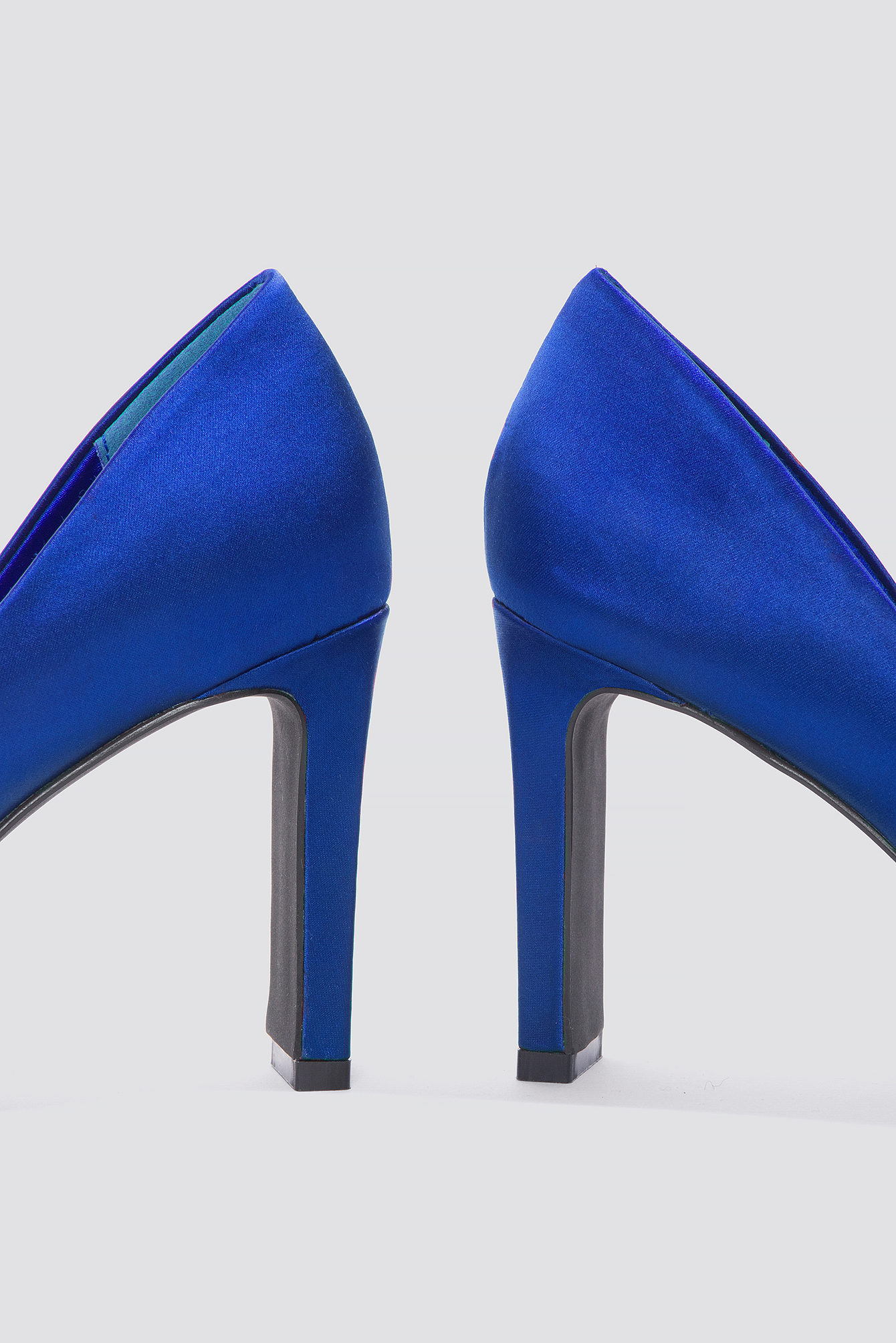 Pointed Rectangle Heel Pumps NA-KD.COM