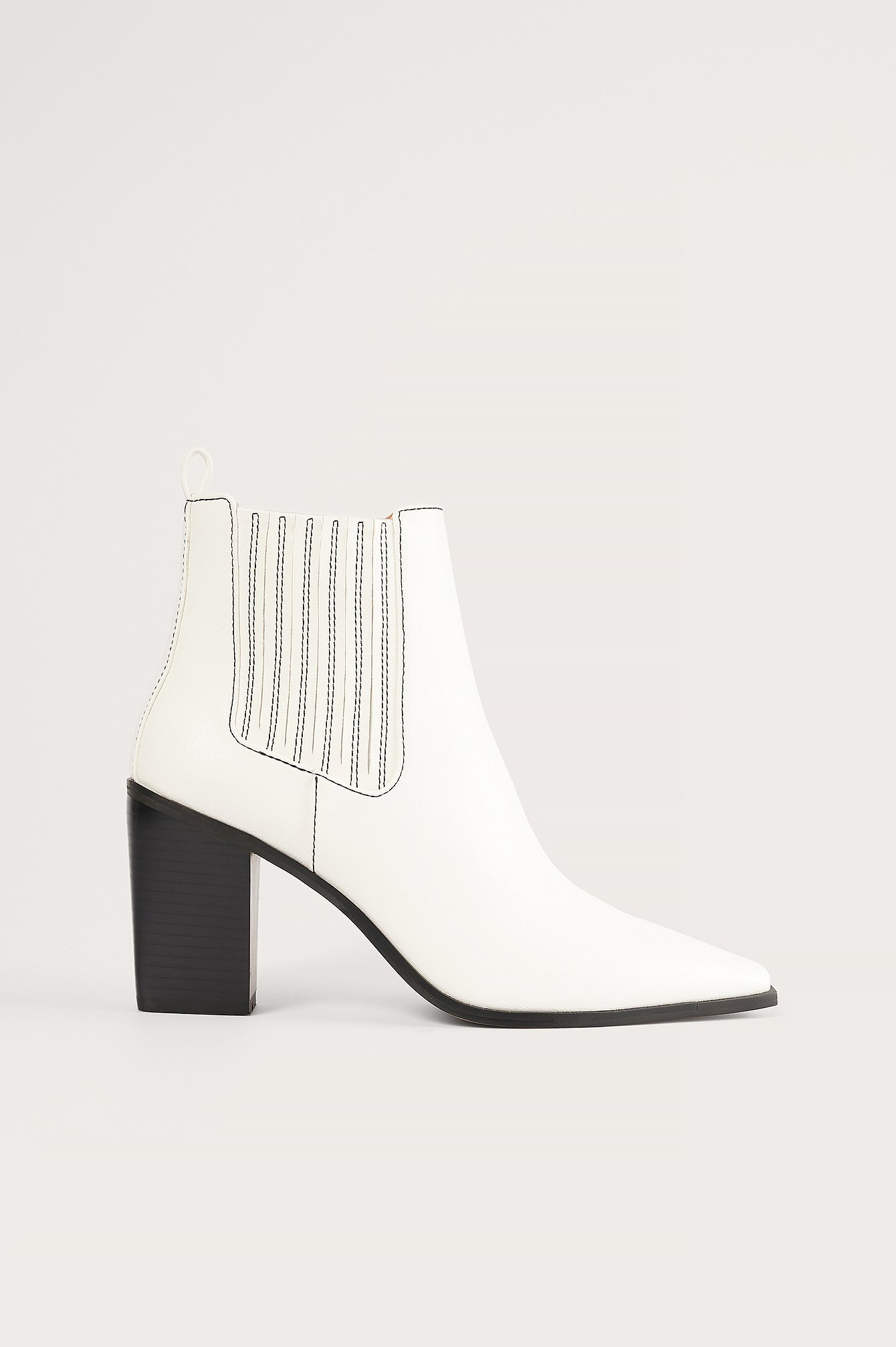 na-kd shoes -  Stiefel - Offwhite