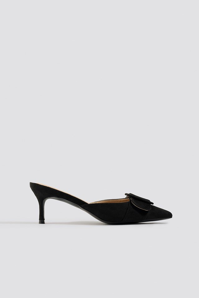 Pointy Buckle Mules NA-KD Shoes