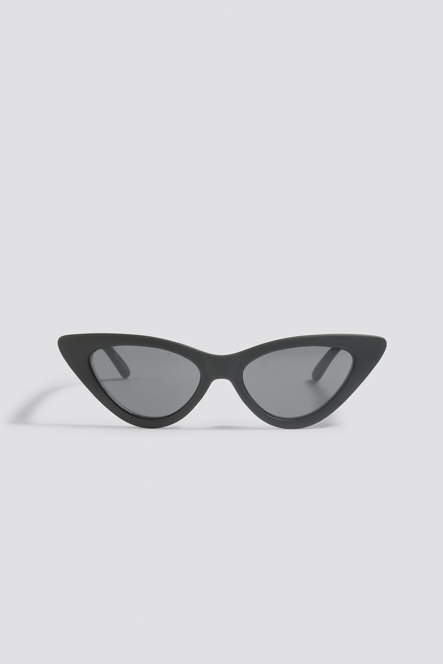 NA-KD Accessories Wide Rectangle Sunglasses - Black G50iYXm7DC