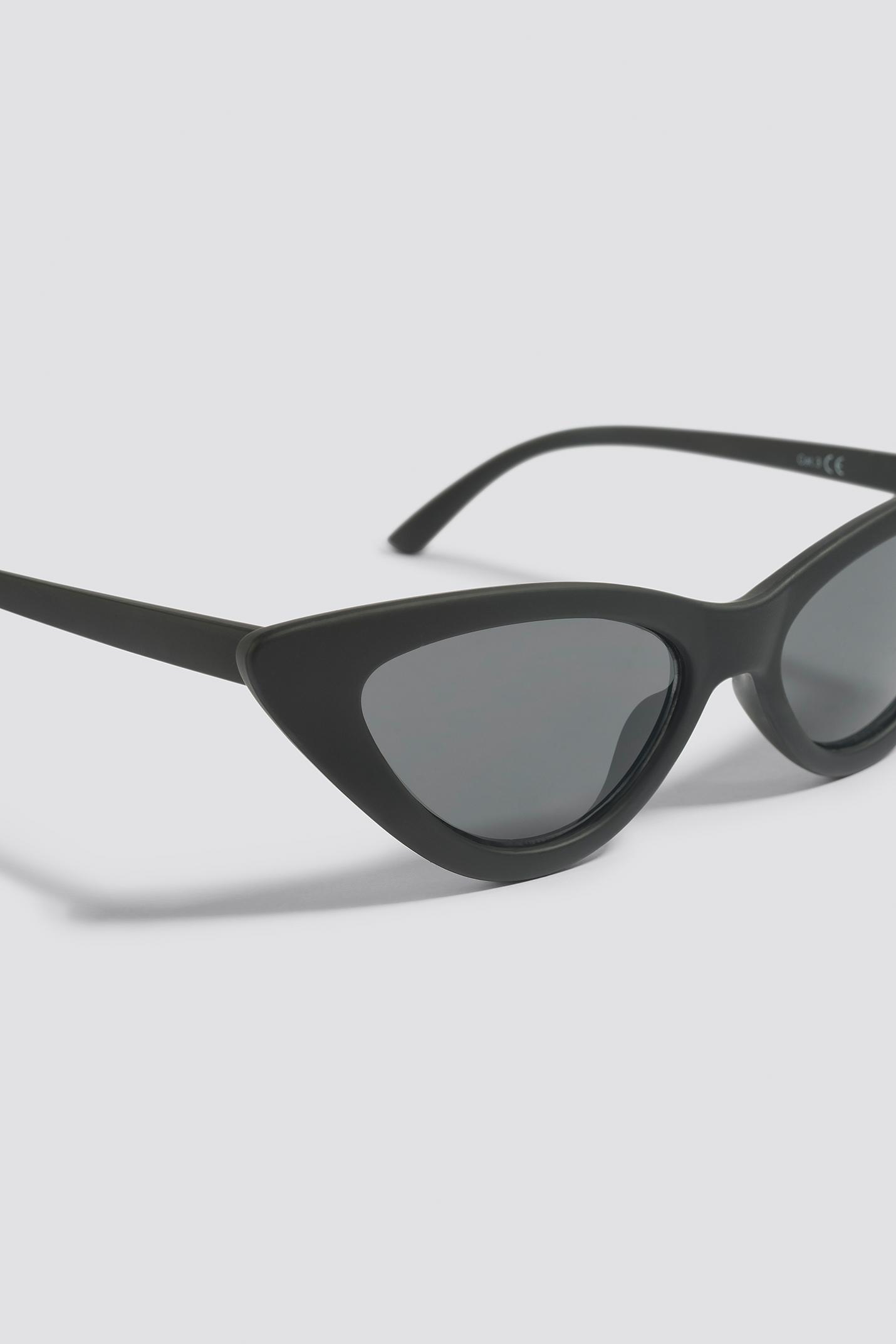 NA-KD Accessories Wide Rectangle Sunglasses - Black I8L1bNrStT