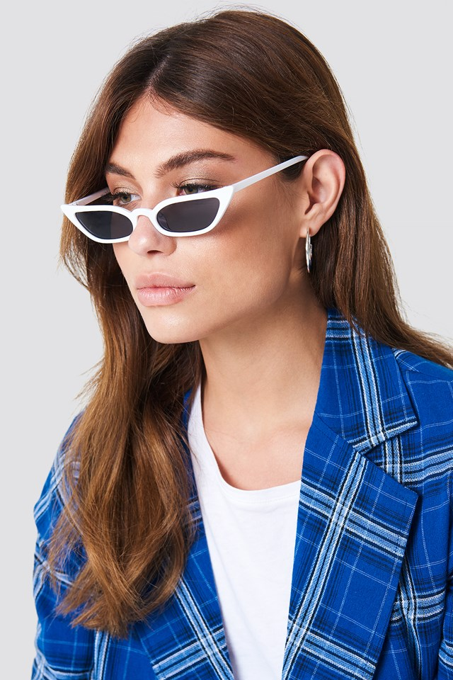 Okulary przeciwsłoneczne retro NA-KD Accessories