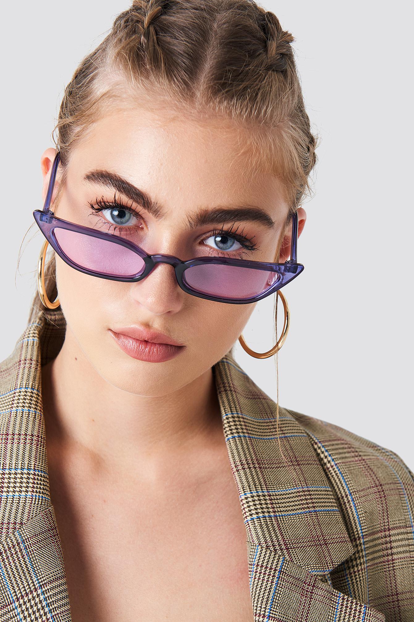 Okulary przeciwsłoneczne retro NA-KD.COM