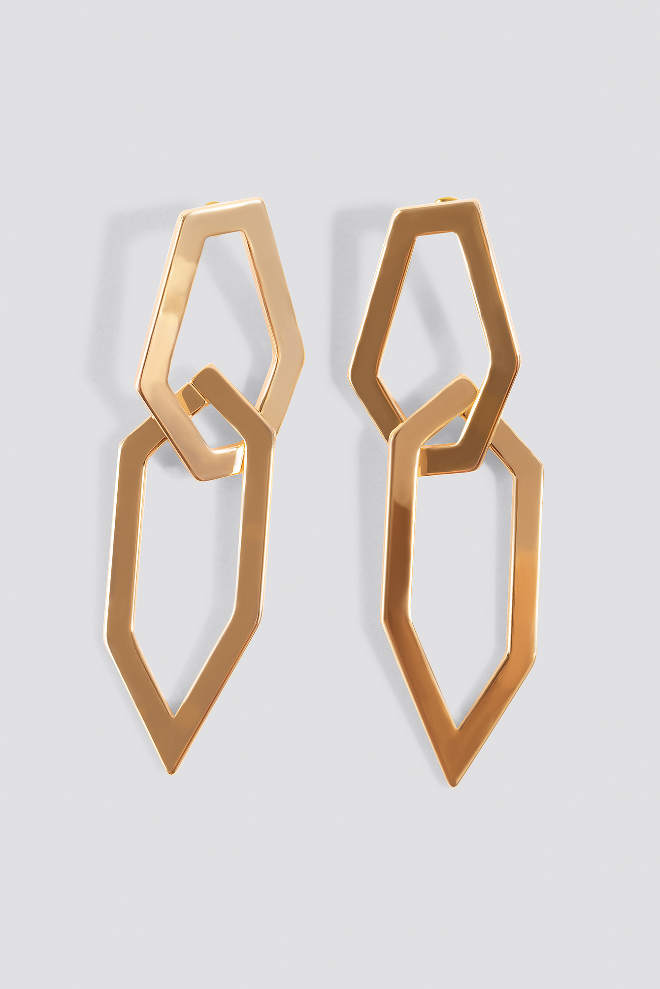 Pointy Framed Earrings NA-KD.COM