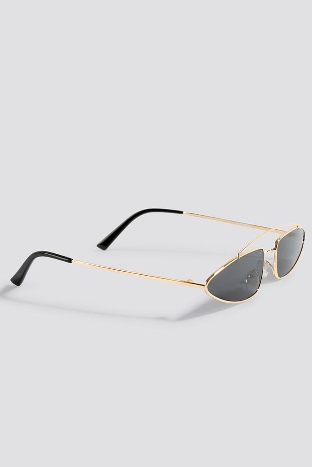Okulary przeciwsłoneczne z mostkiem NA-KD.COM