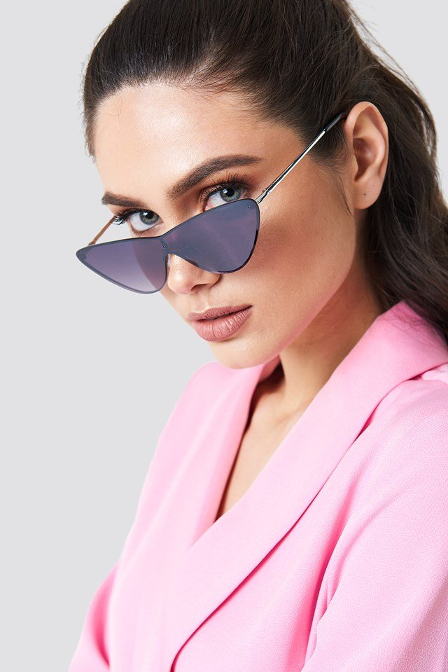 Pointy Metal Frame Sunglasses NA-KD Accessories
