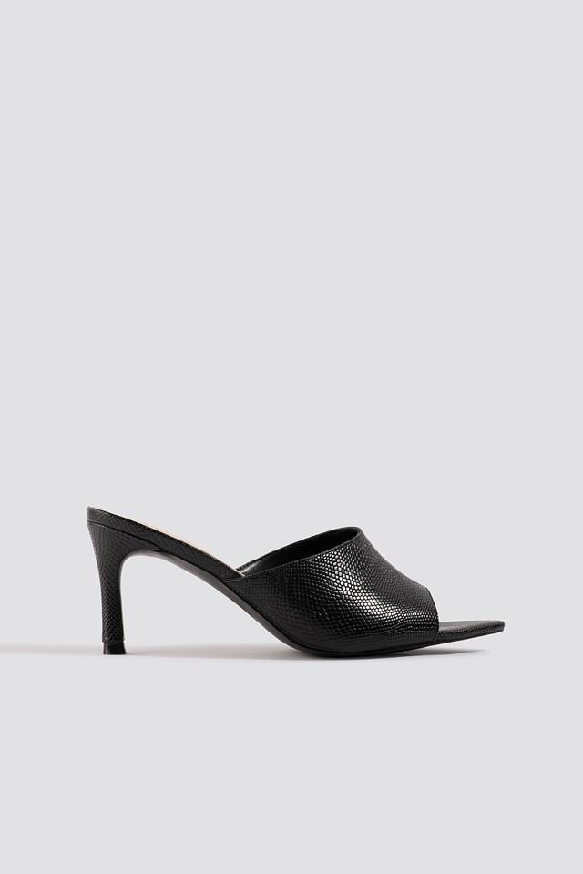 Pointy Sole Peeptoe Pumps NA-KD Shoes
