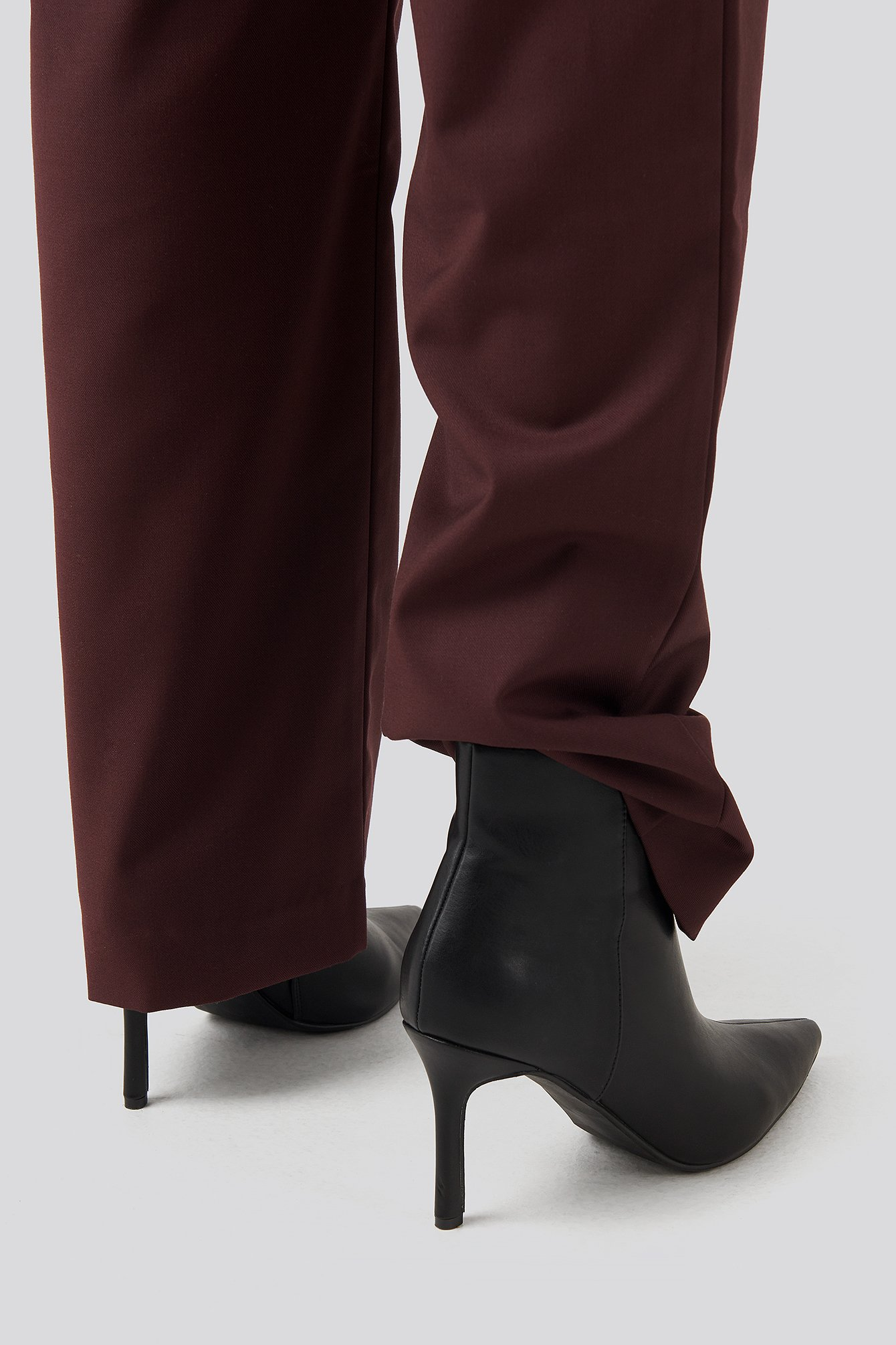 Na-kd Pointy Stiletto Boots - Black