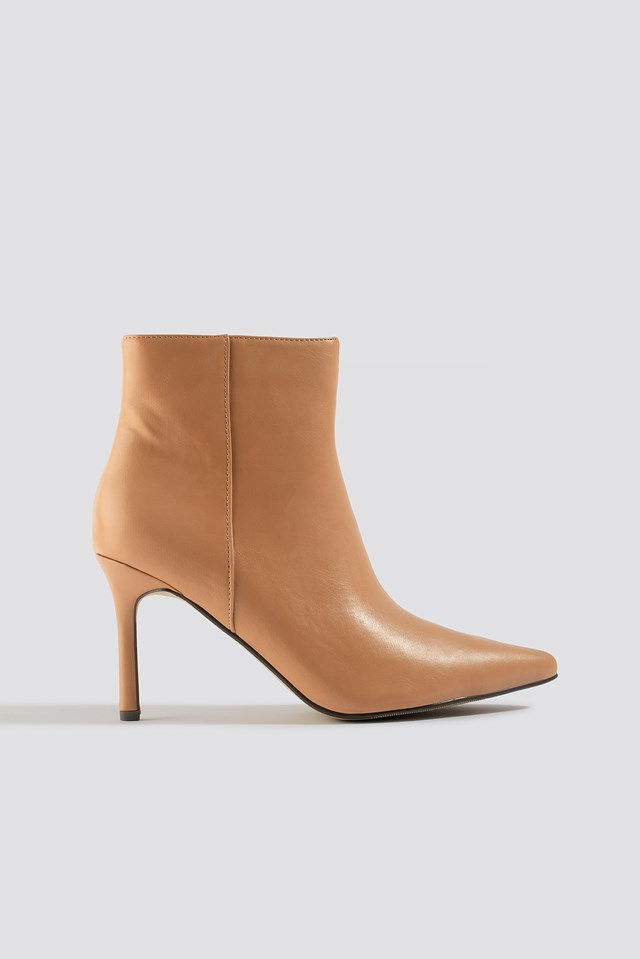 Pointy Stiletto Boots NA-KD Shoes