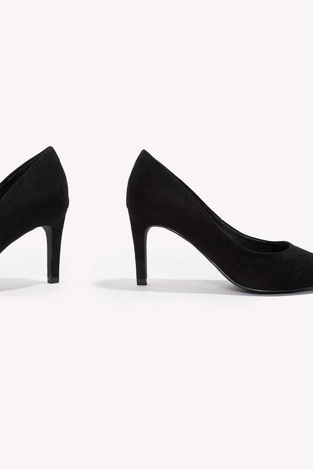 Pointy Suede Pumps NA-KD.COM