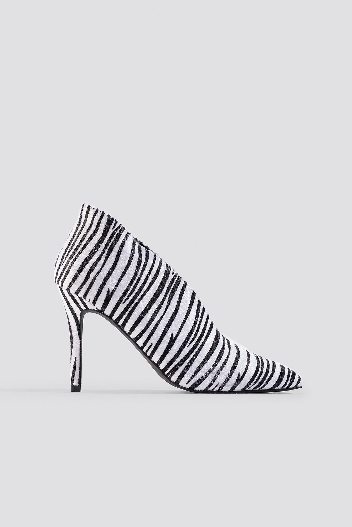 Pointy Zebra Heels NA-KD.COM