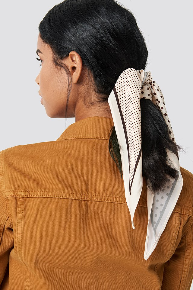 Polka Dot Hair Scarf NA-KD.COM