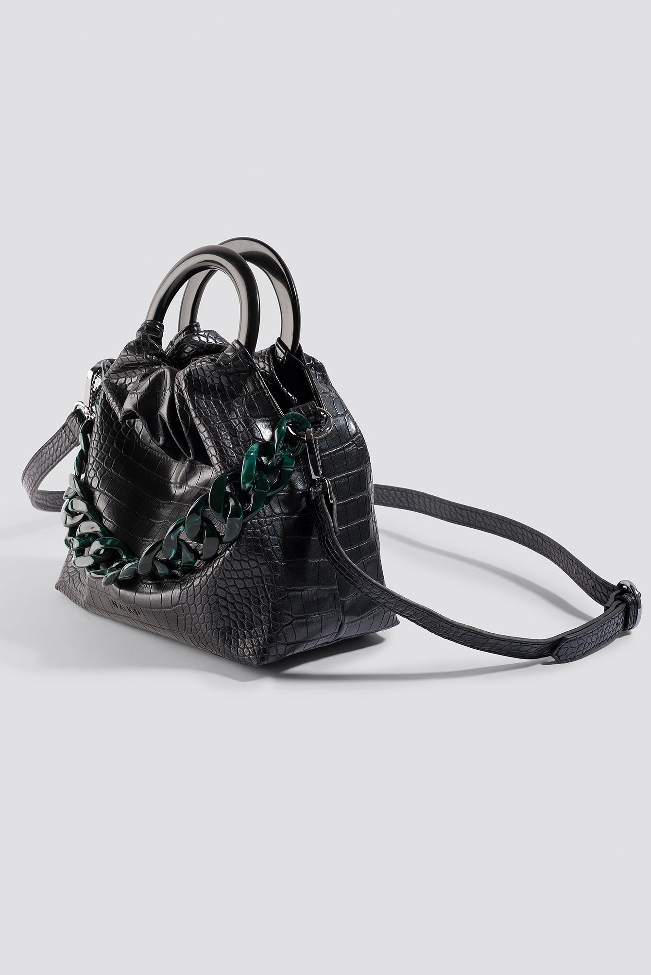Pop Chain Bucket Bag NA-KD.COM