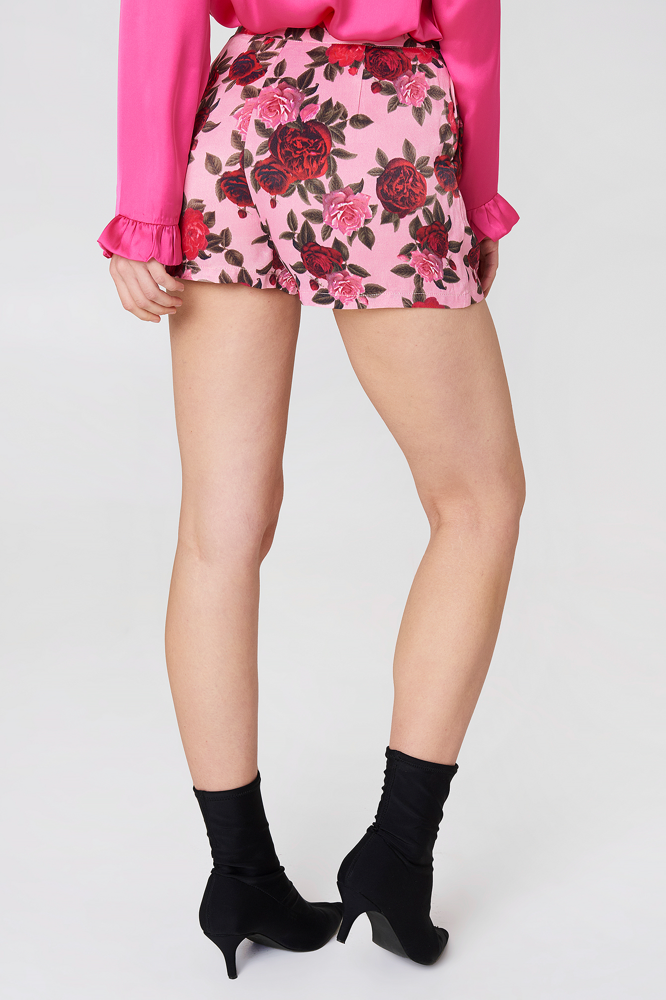 Printed High Waist Shorts NA-KD.COM