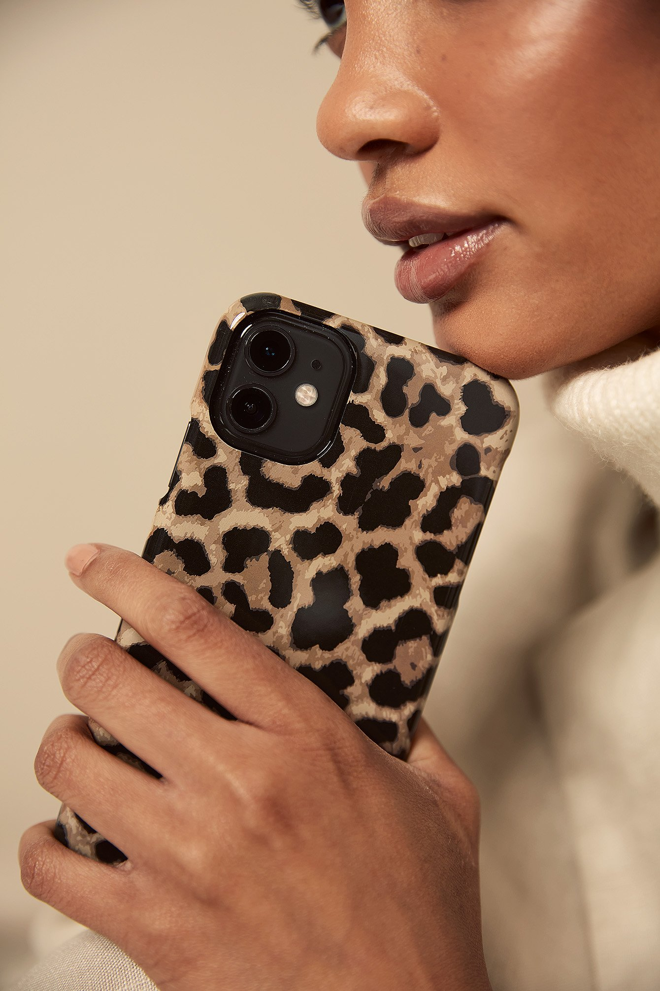 Leopard Printed Phone Case