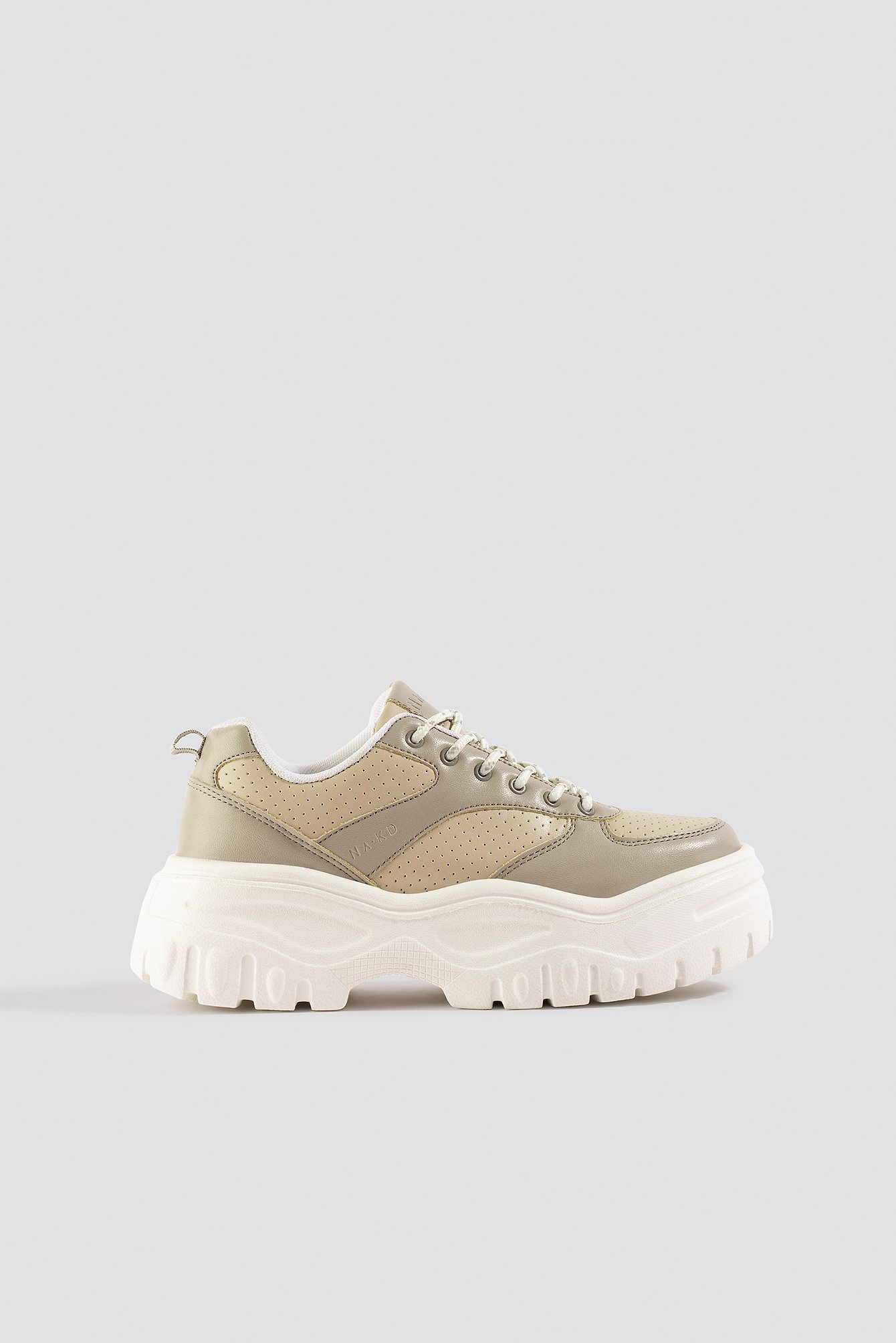 Dusty Sand Profile Sole Sneakers