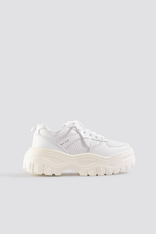 Profile Sole Sneakers White