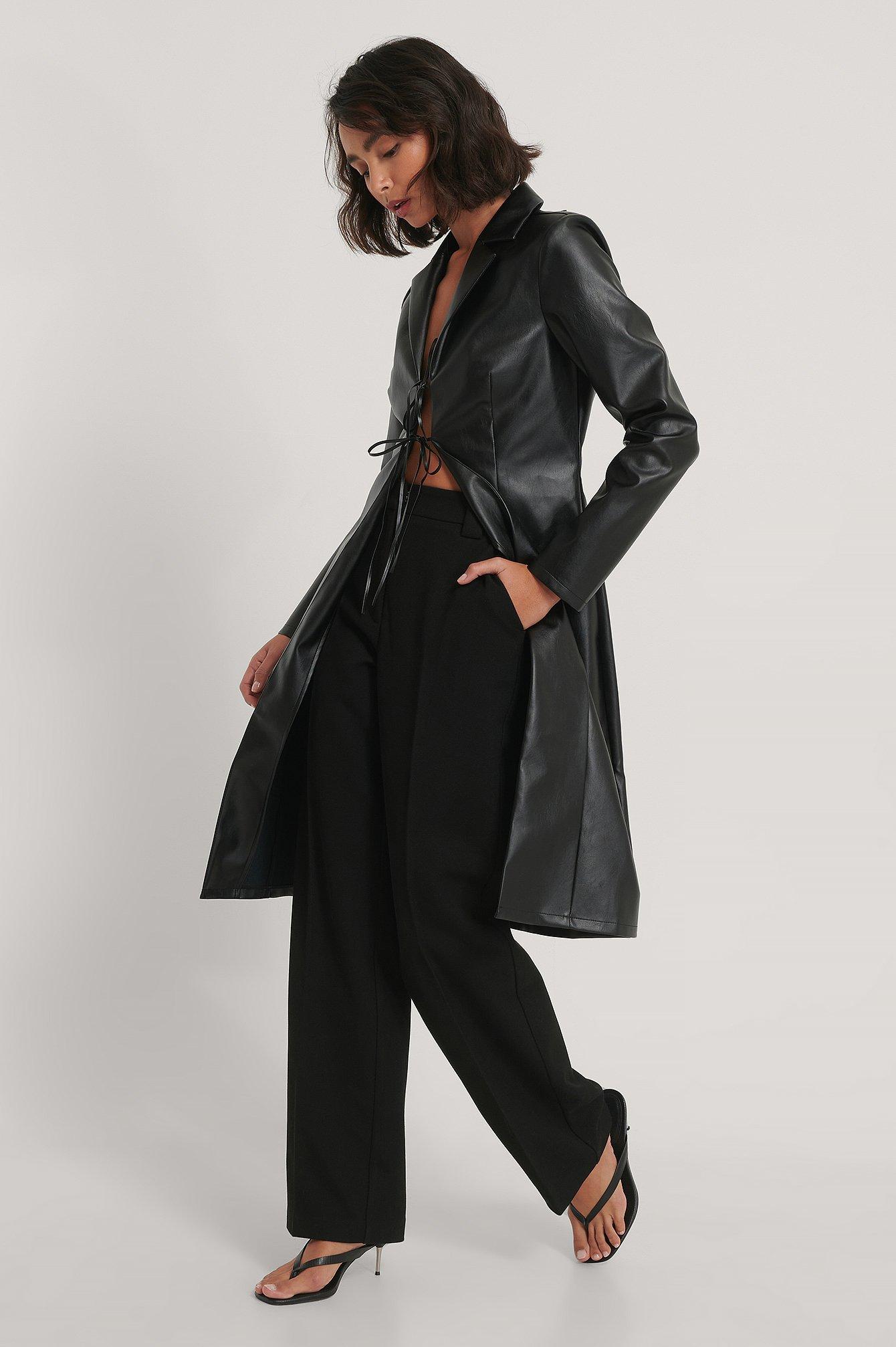 na-kd trend -  Pu-Mantel - Black