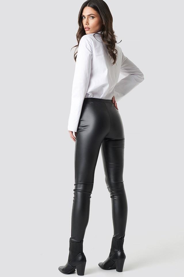 PU Leggings Black
