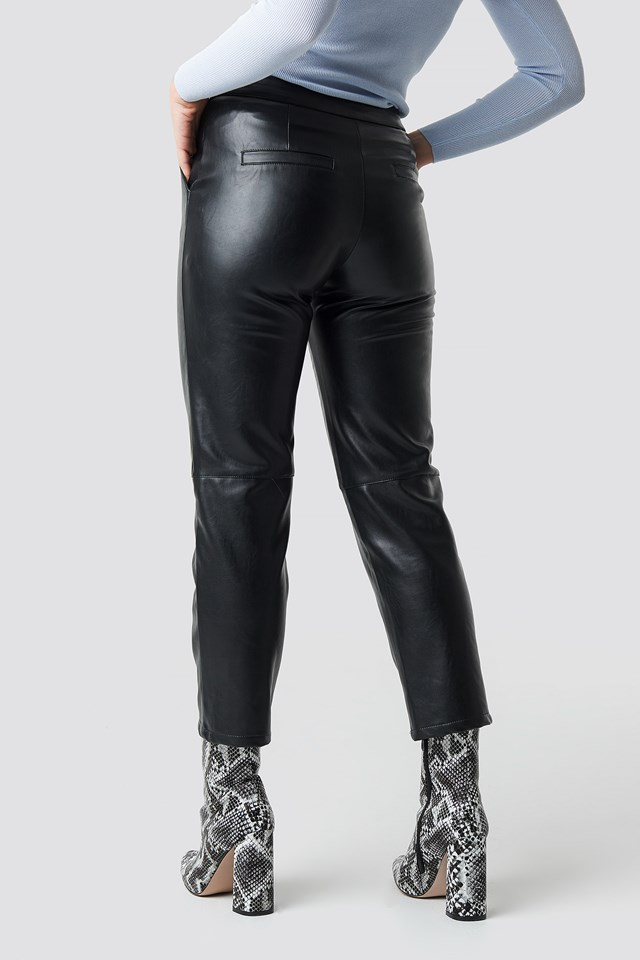 PU Pants Black
