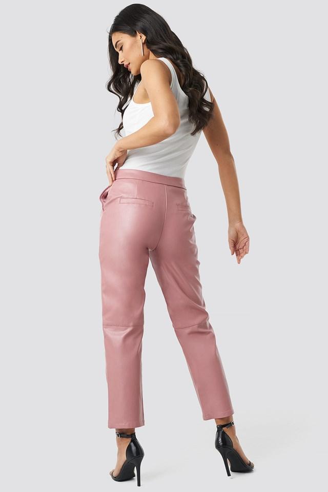 PU Pants Pink