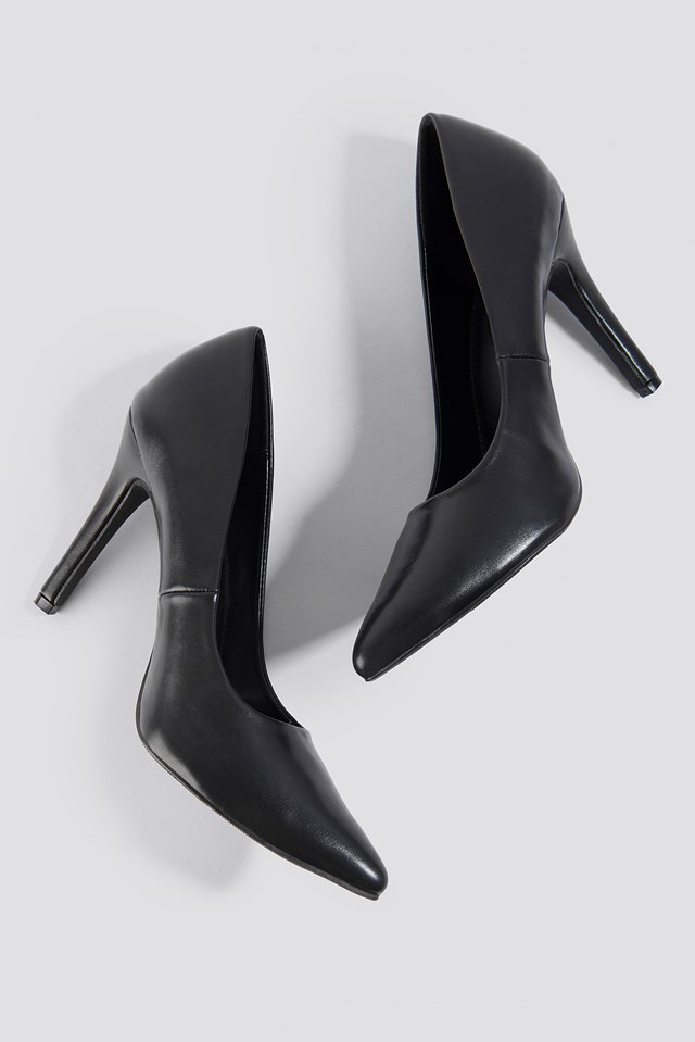 PU Pumps Black