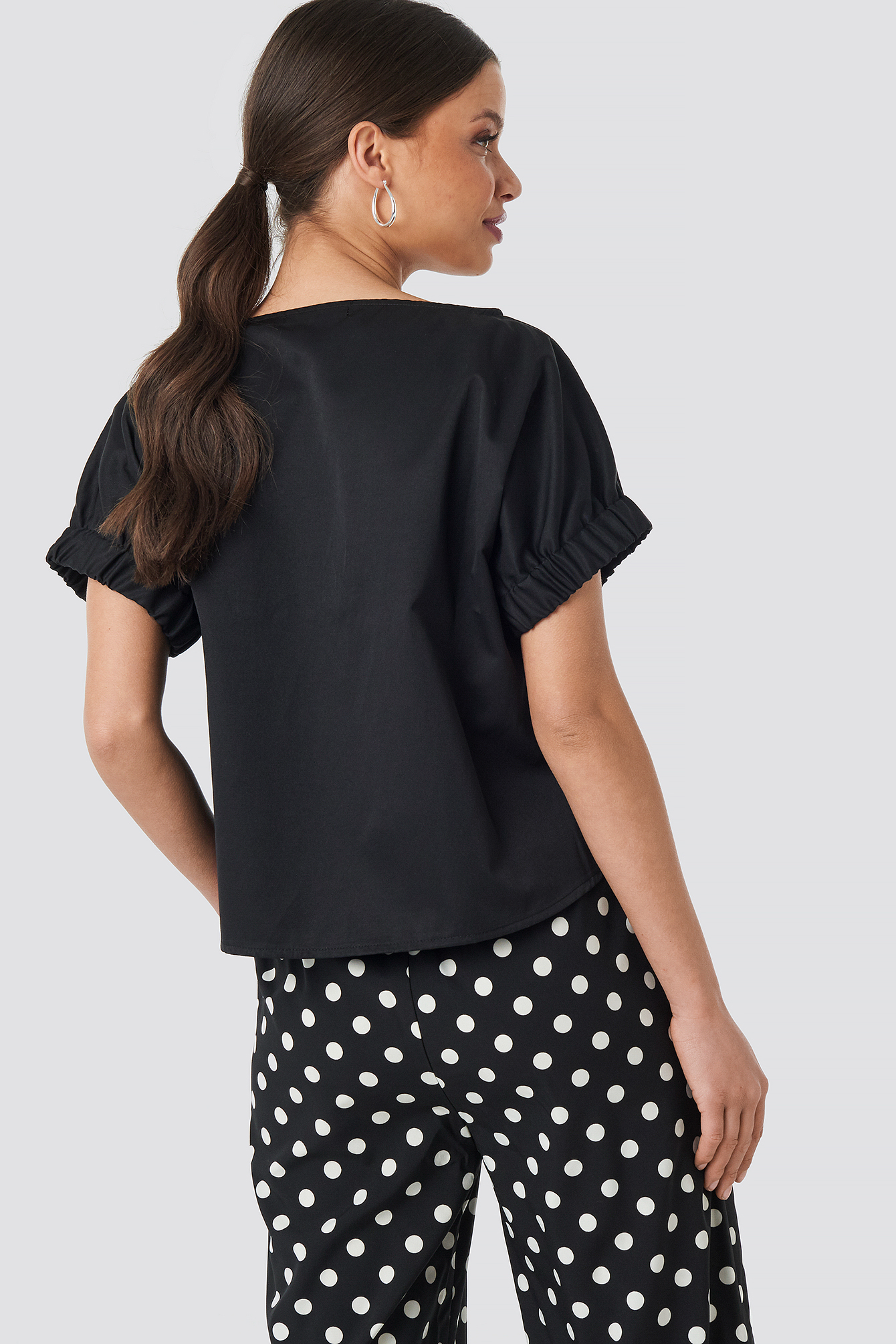 Puff Short Sleeve Blouse NA-KD.COM