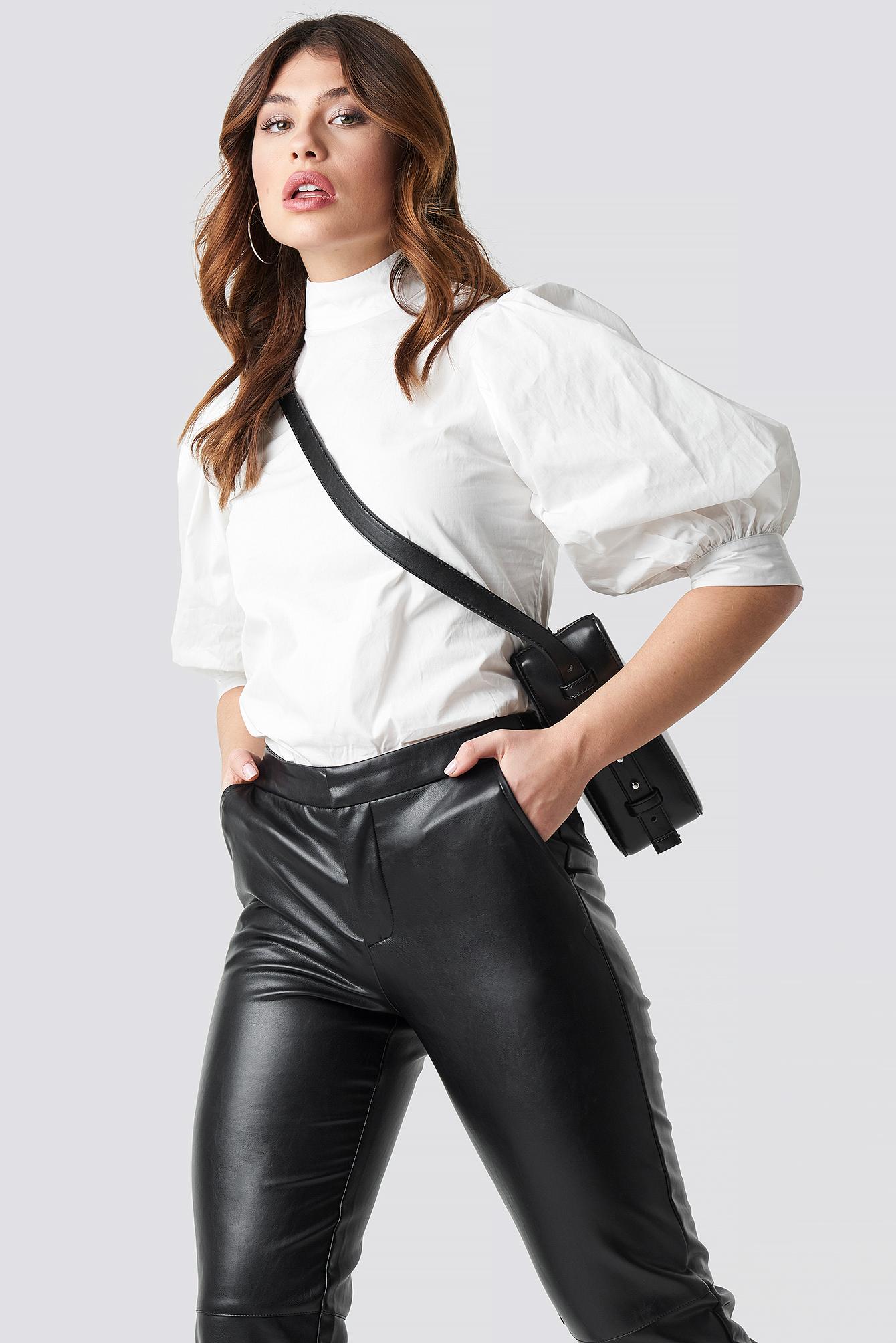 b60a1a3de315de Puff Sleeve Blouse White | na-kd.com
