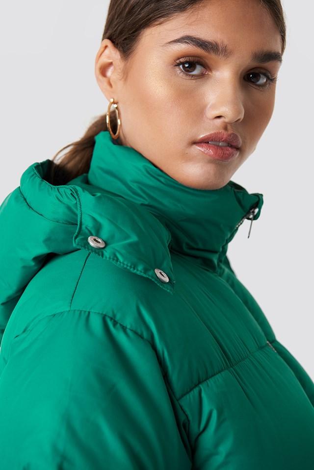 Puffer Jacket Green