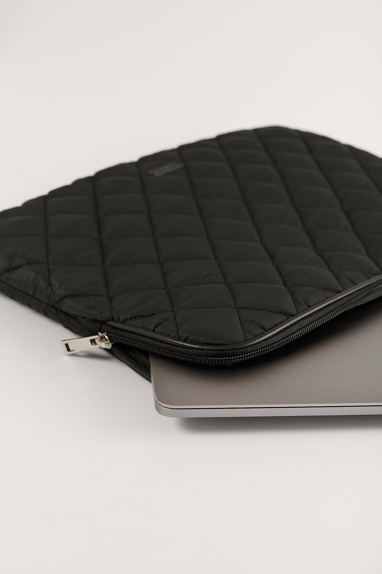 NA-KD Accessories Laptop etui - Black