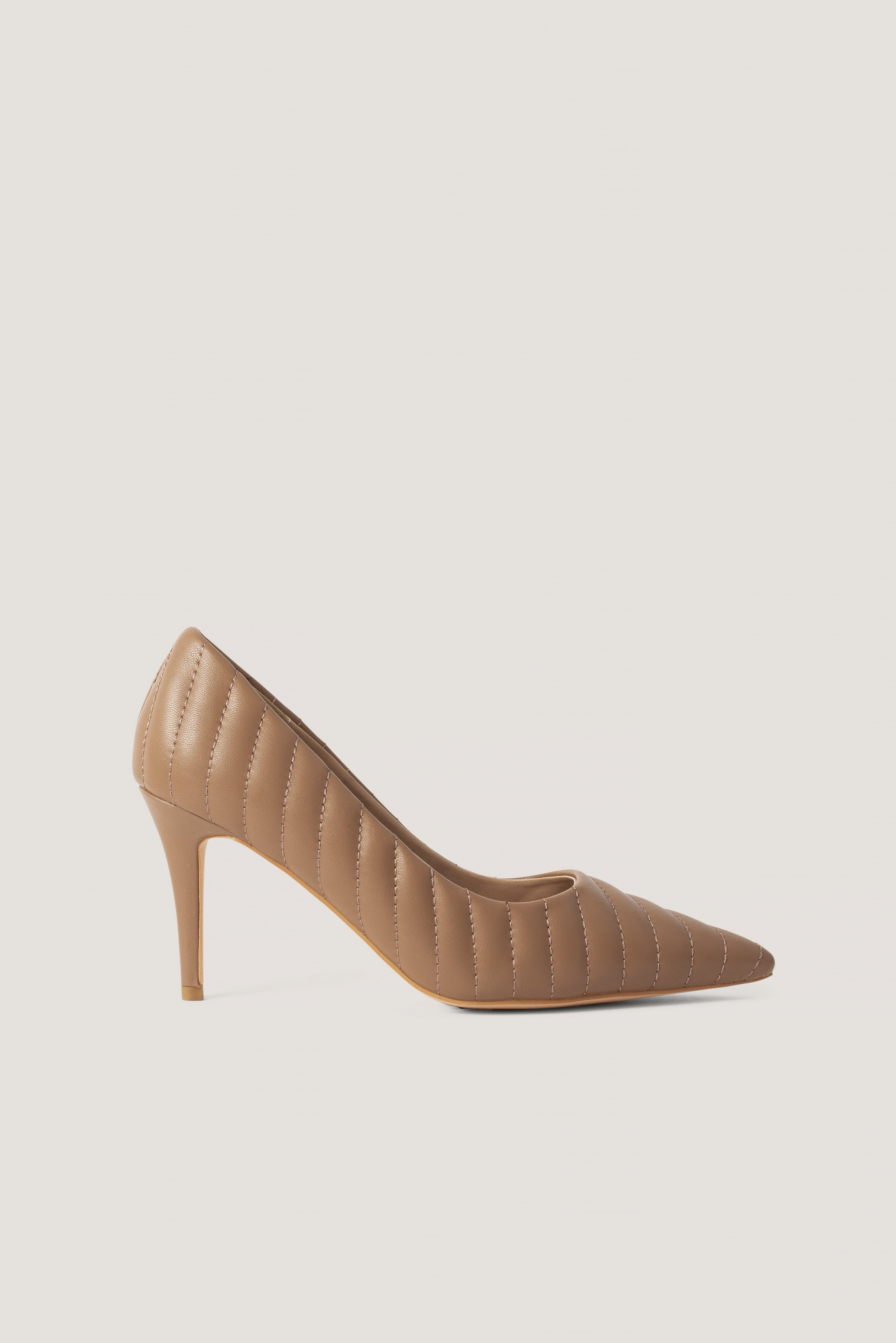 Quilted Pointy Pumps