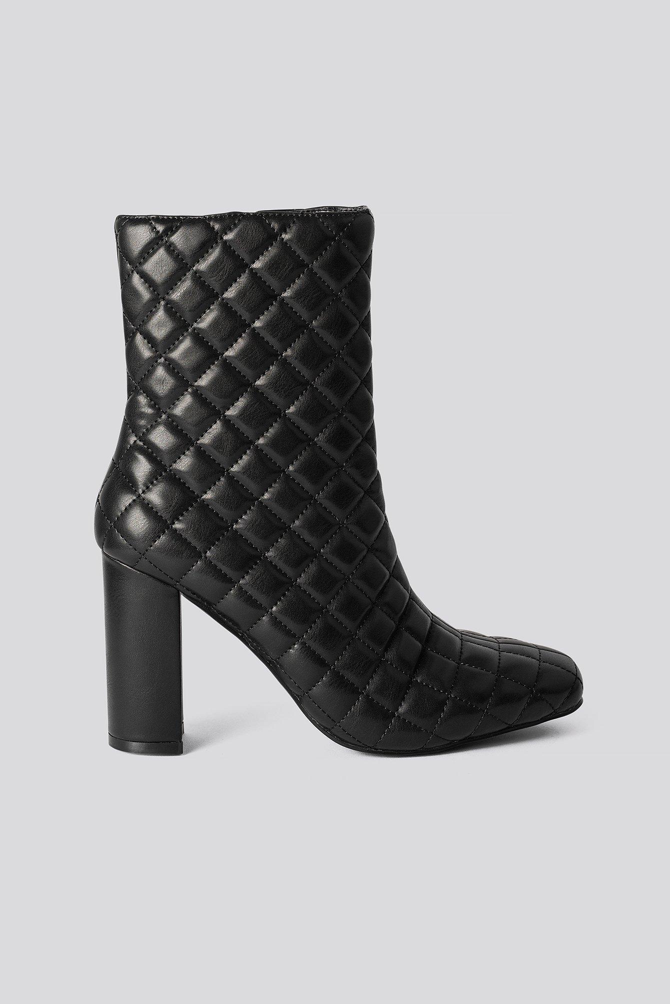 na-kd shoes -  Hohe Stiefel - Black