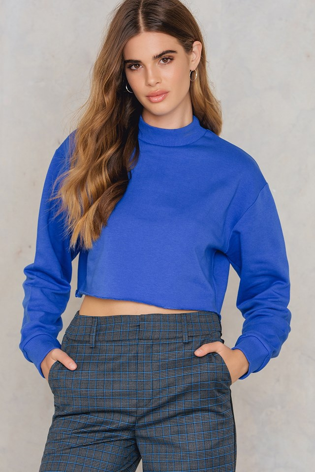 Rad Sweater Cobalt