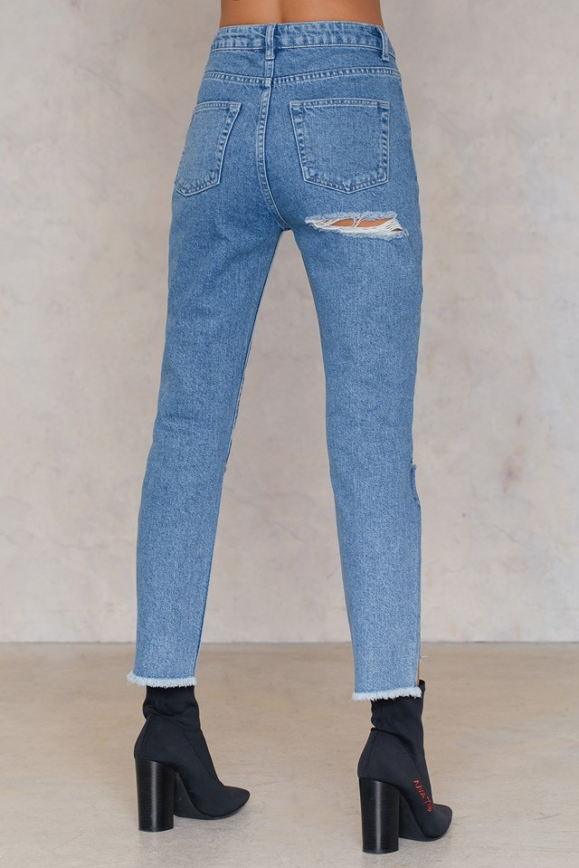 Raquelreitx Jeans Light Blue