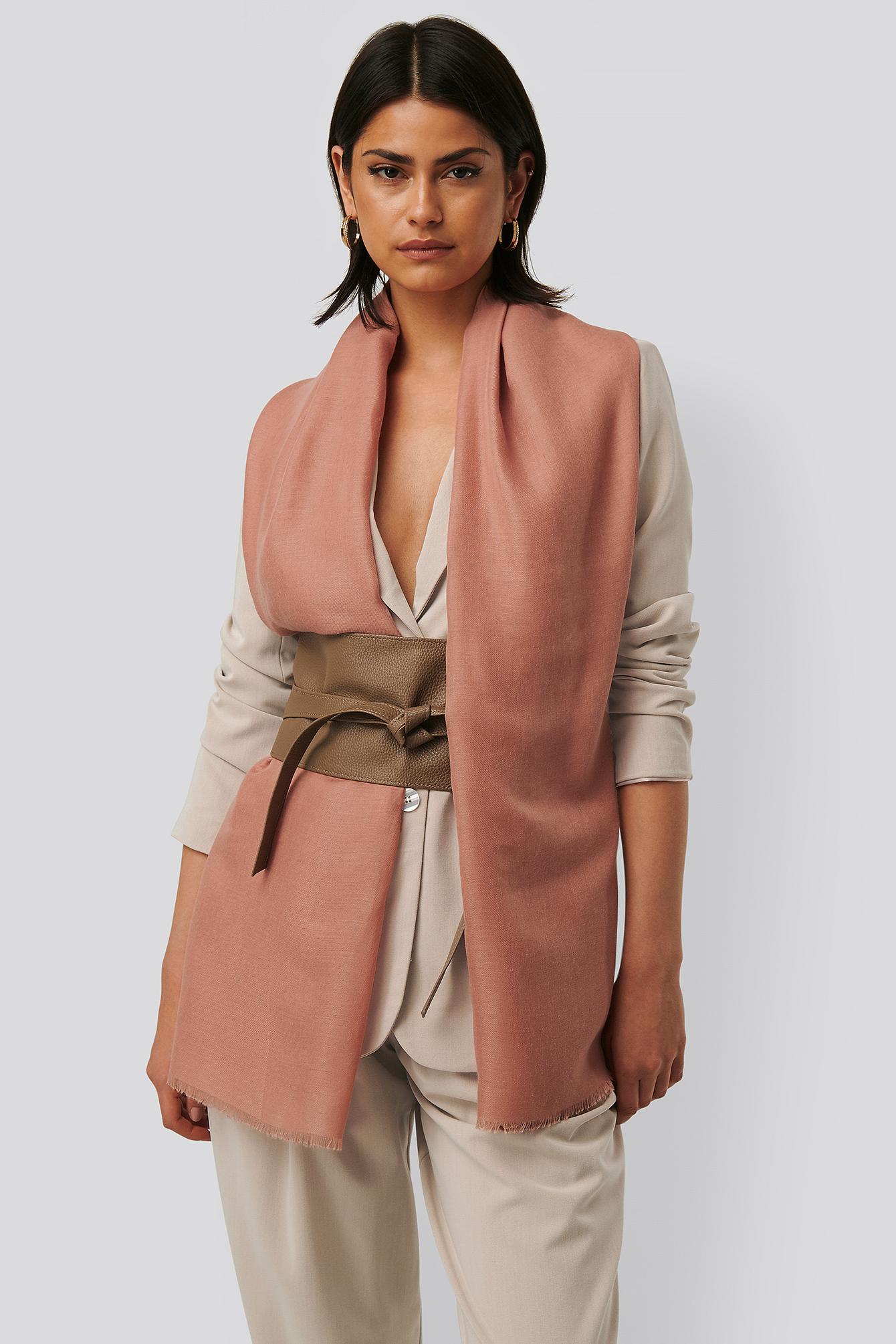 NA-KD Accessories Tørklæde - Pink