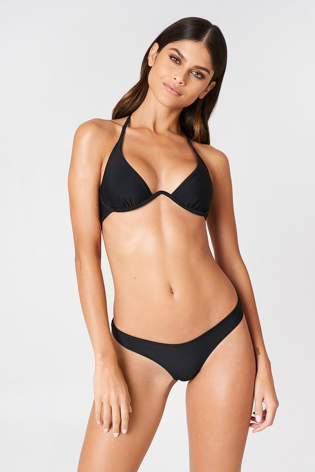 Bella High-Cut Bikini Pantie Black