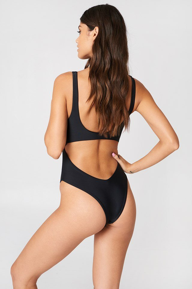 The Knot Swimsuit Black