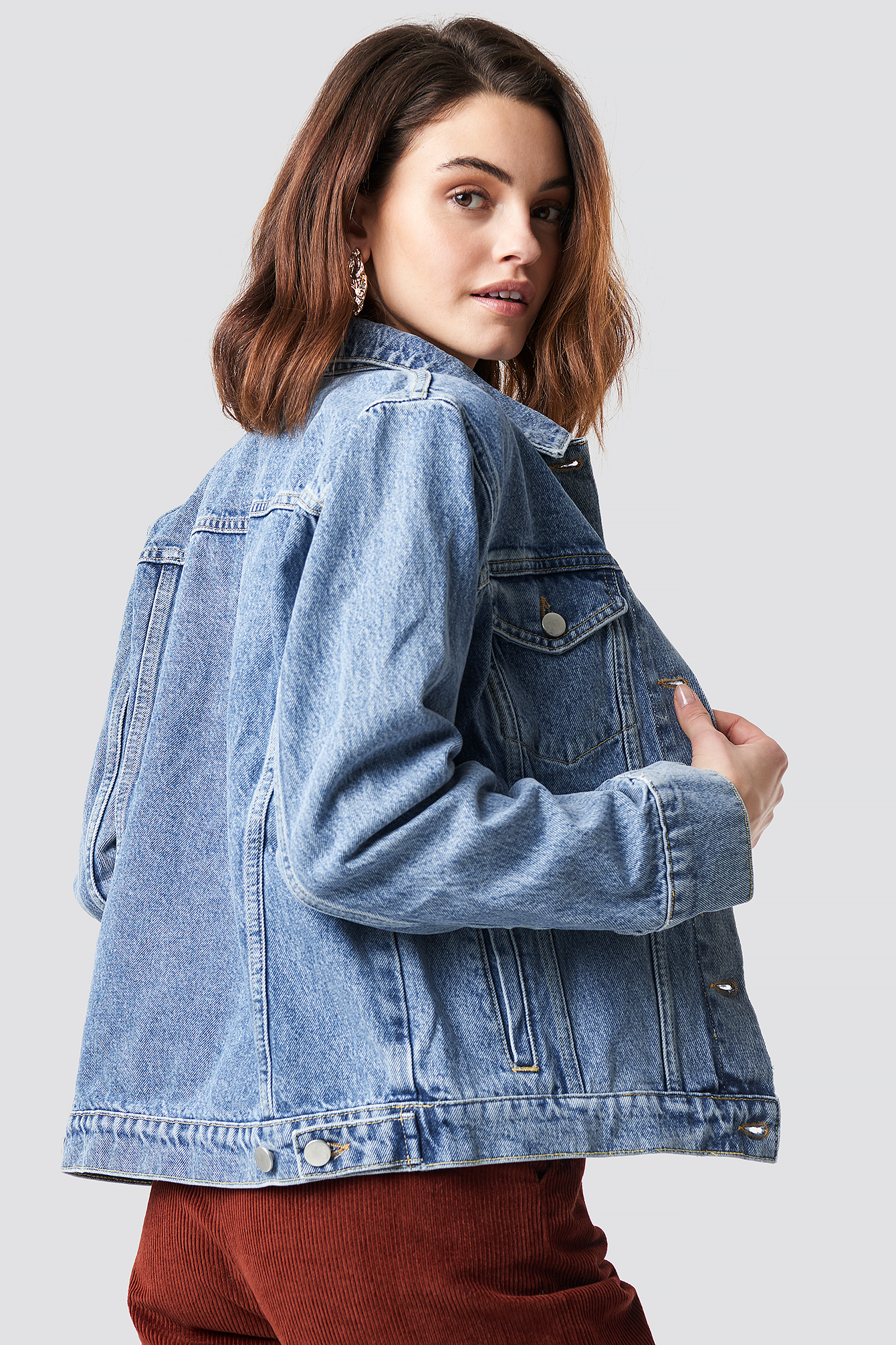 Regular Denim Jacket NA-KD.COM