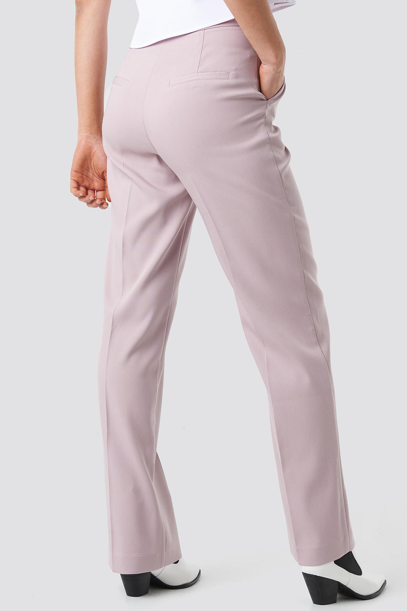 Regular Straight Suit Pants NA-KD.COM