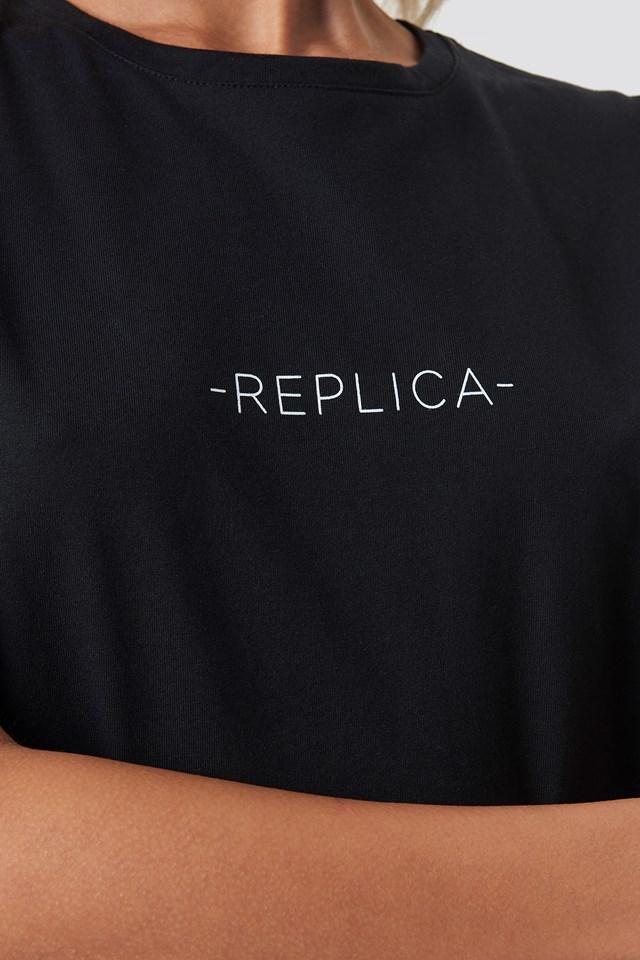 Replica Oversized Tee Black