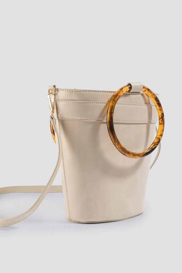 Resin Ring Bucket Bag Na Kd Com