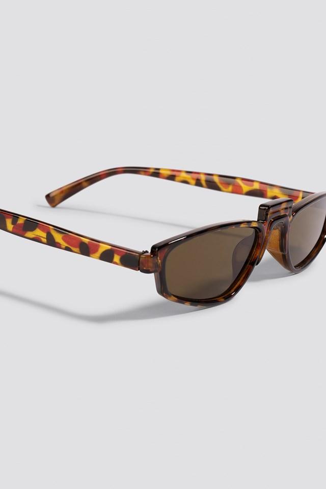 Retro Bridge Sunglasses Turtle