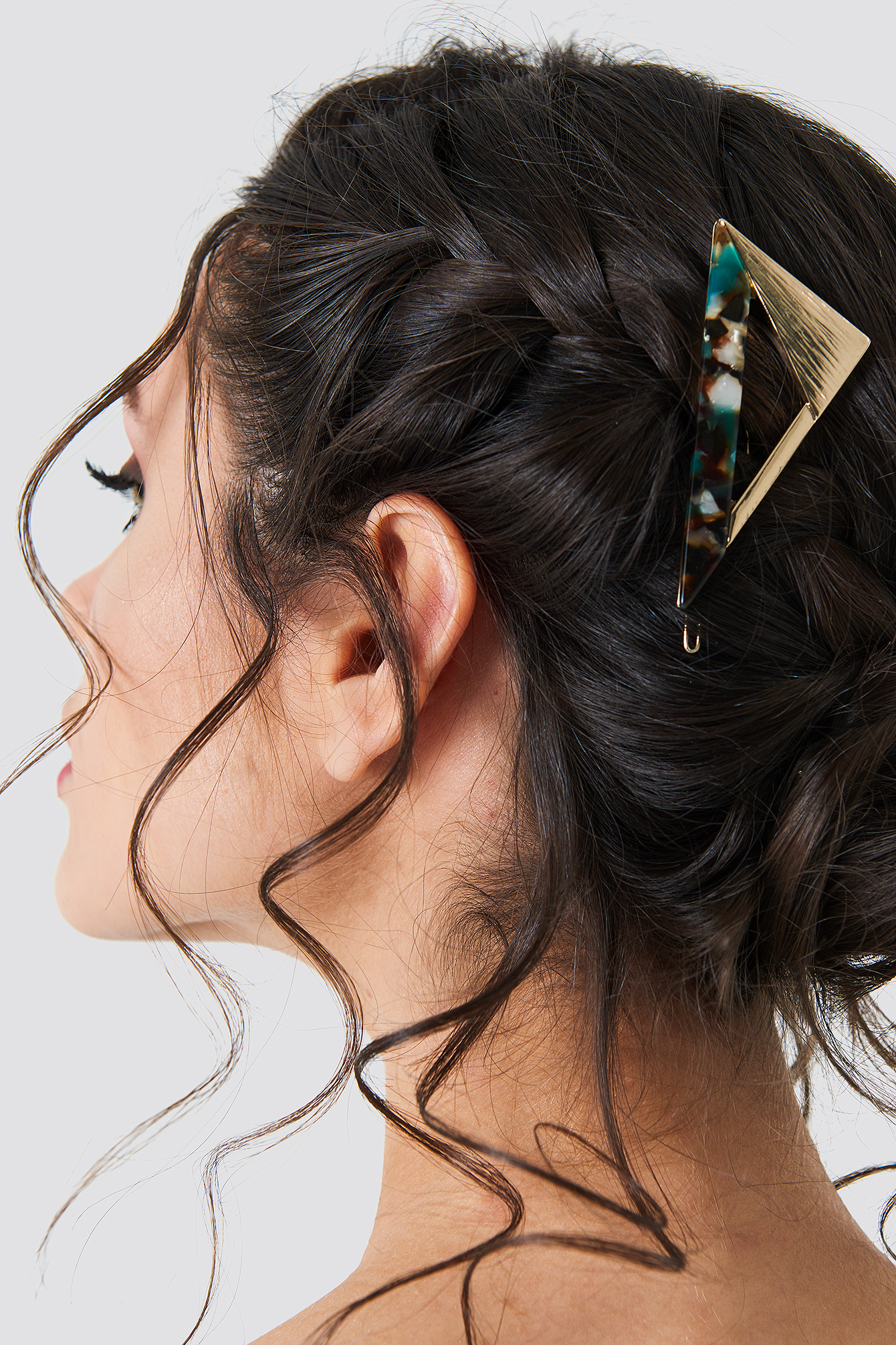 Retro Triangular Hairclip NA-KD.COM