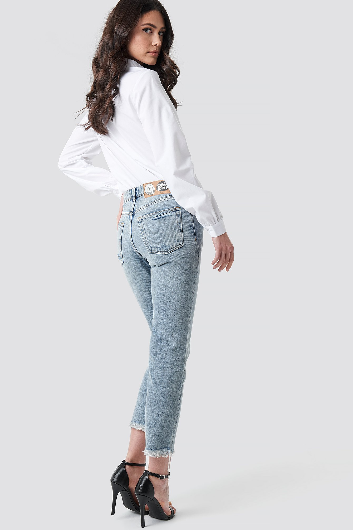 Revive Hex Blue Jeans NA-KD.COM