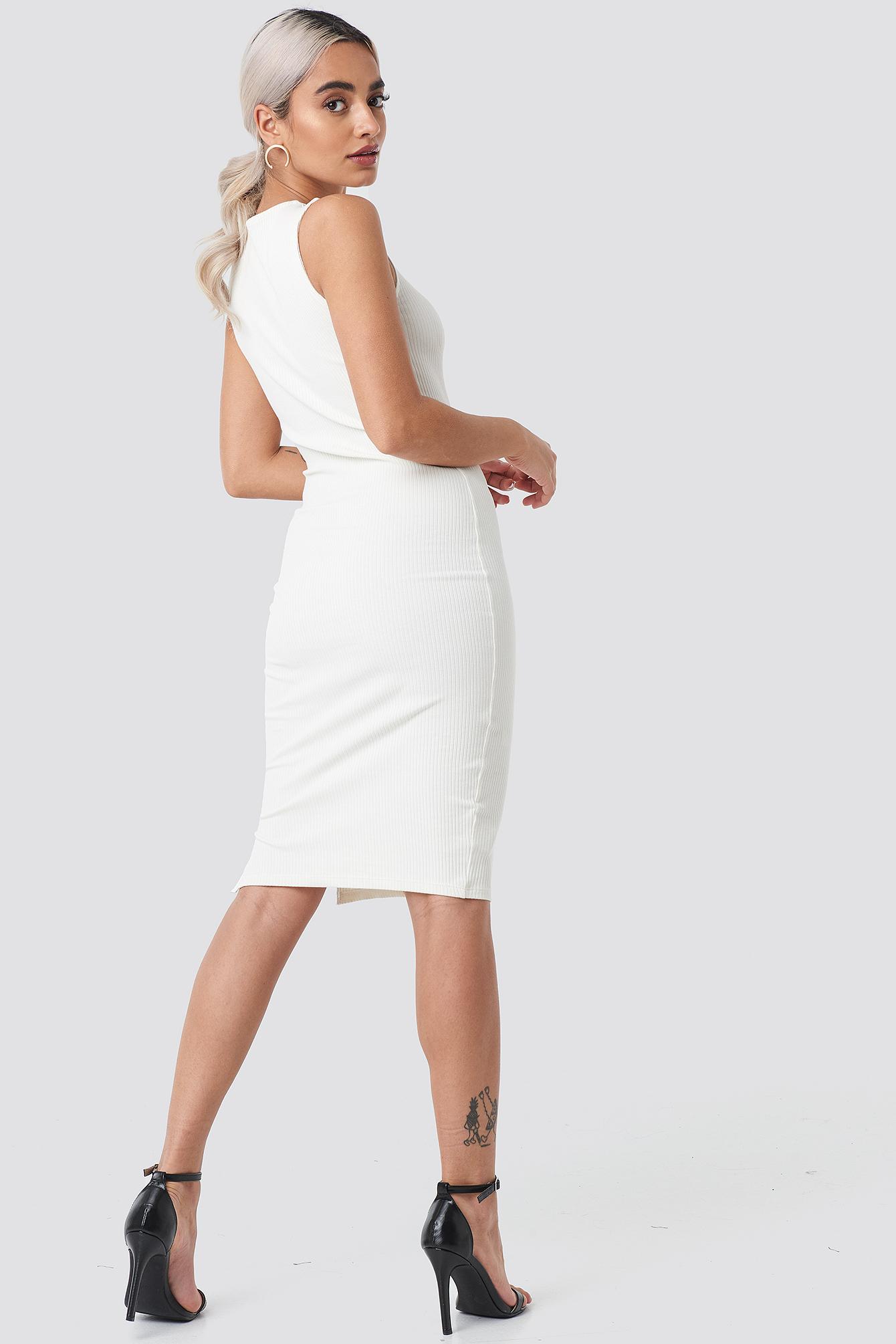 Ribbed Jersey Dress NA-KD.COM