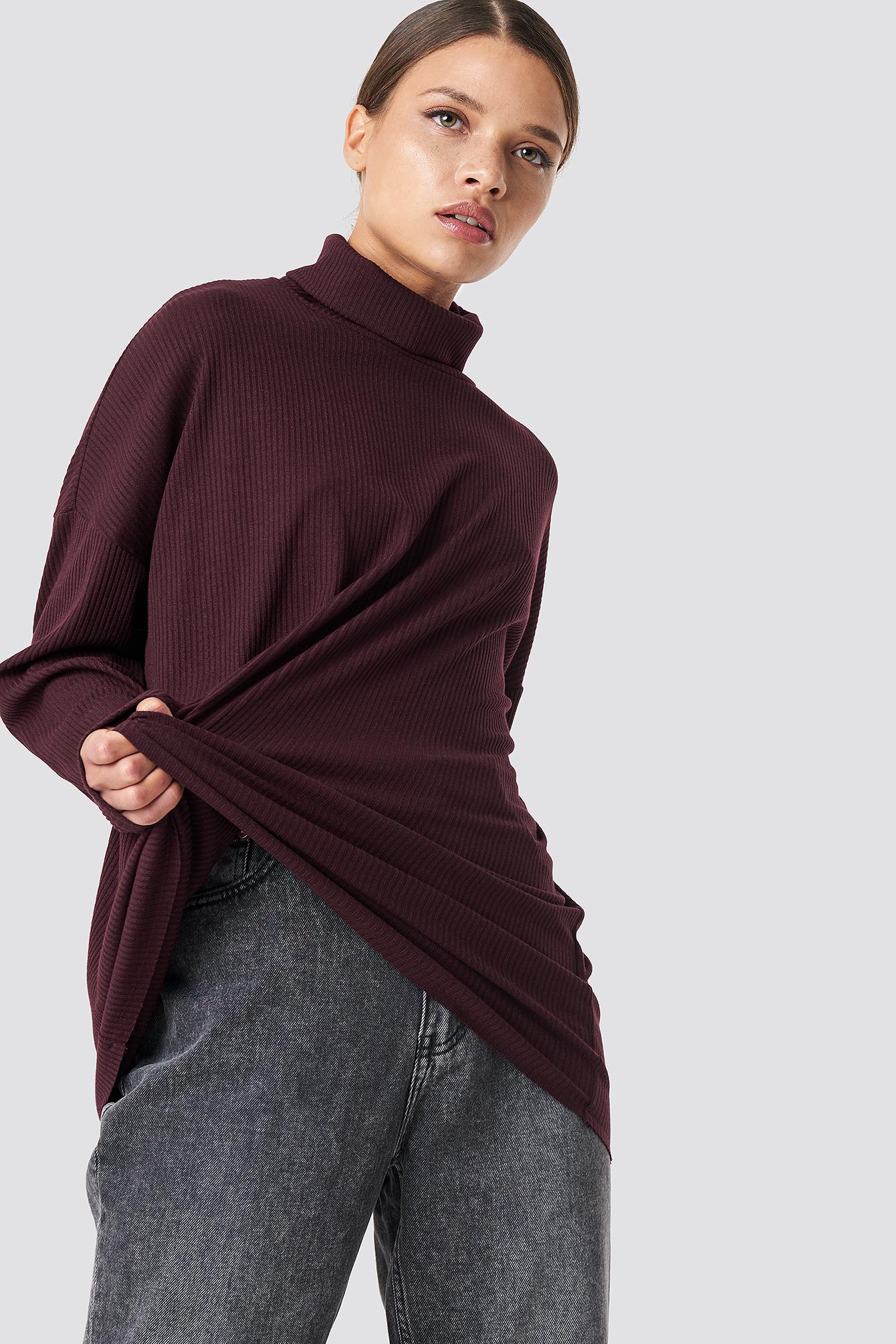 Sweter z golfem NA-KD.COM