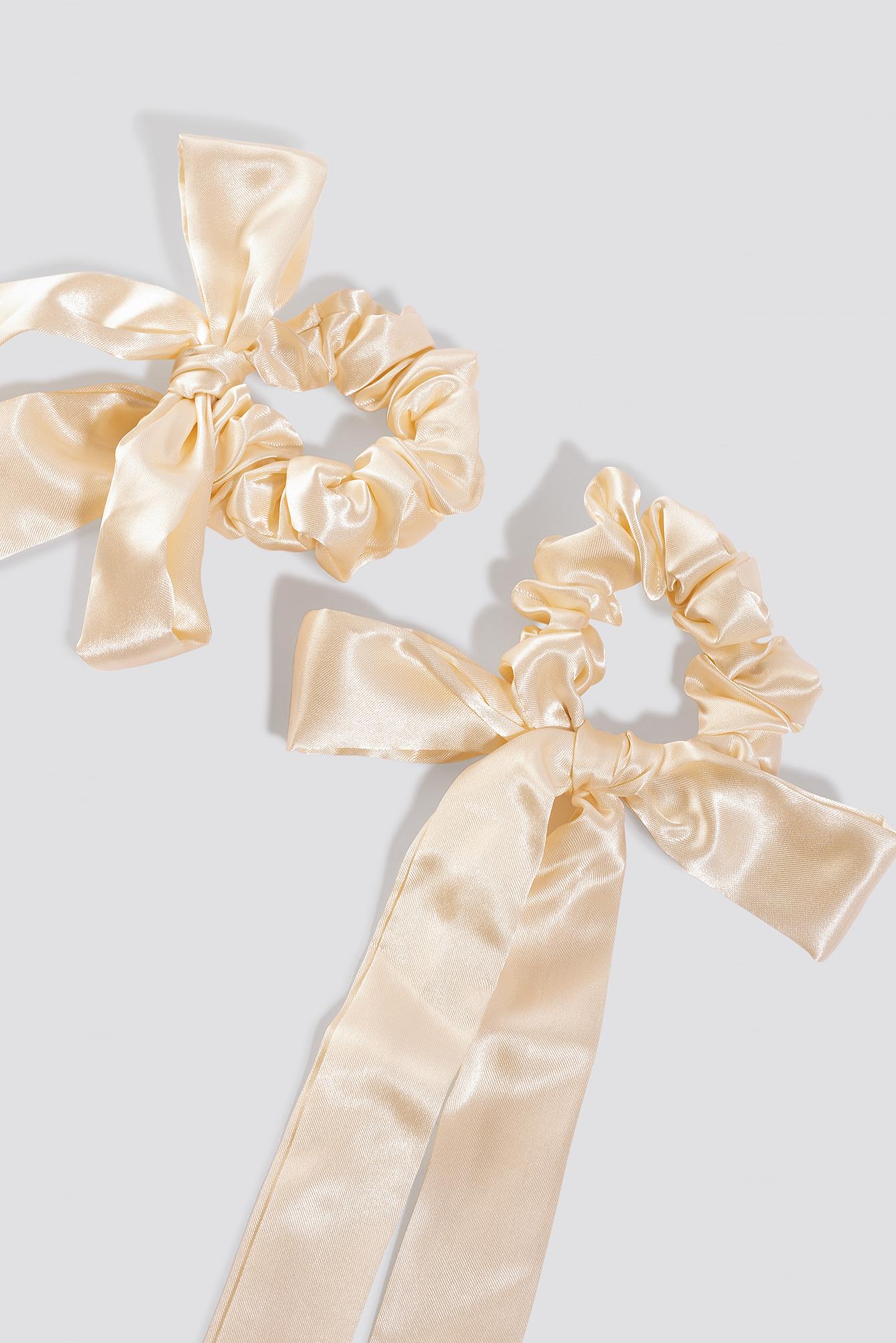 Ribbon Scrunchies (2-Pack) NA-KD.COM