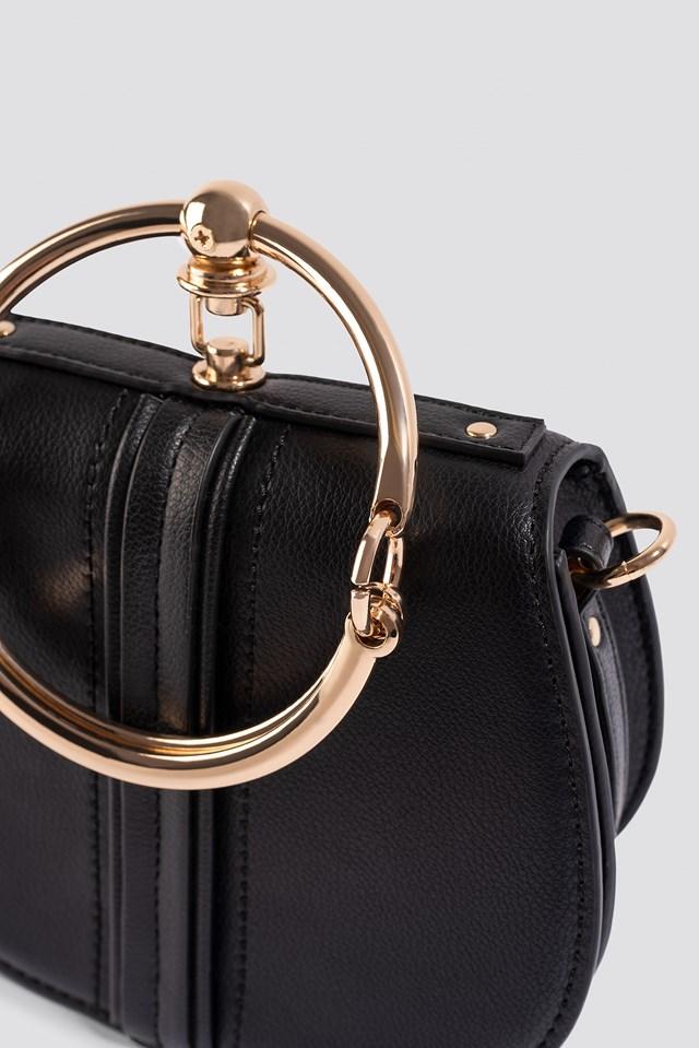 Ring Shoulder Bag Black
