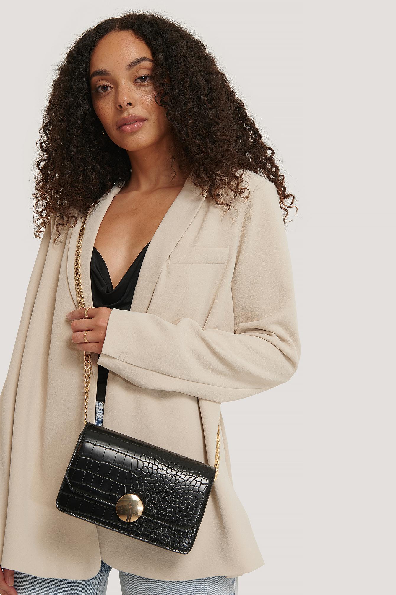 na-kd accessories -  Crossbody-Tasche - Black