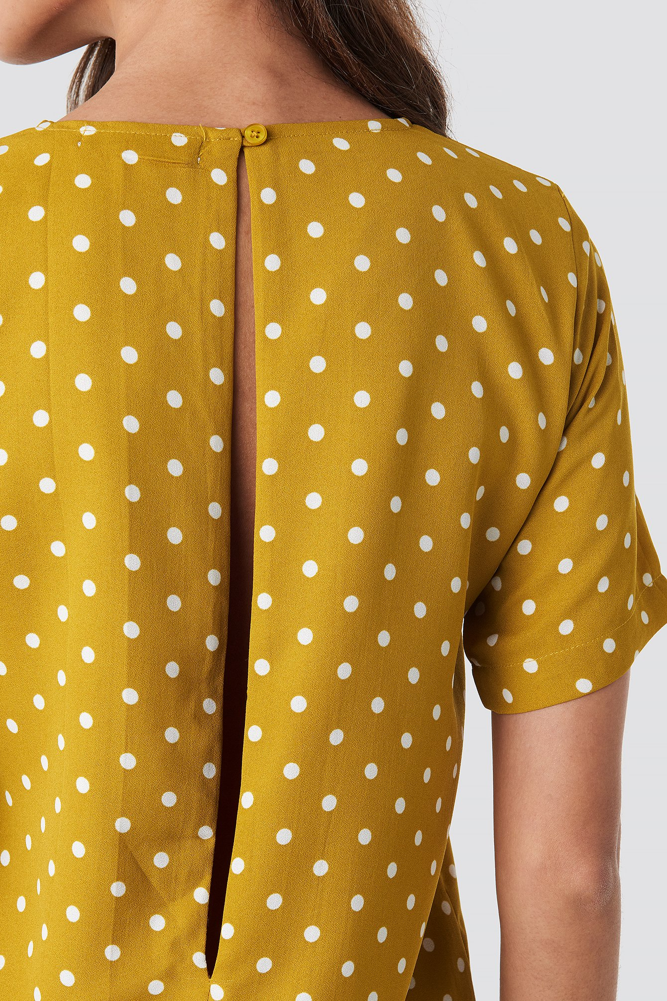 Round Dotted Mini Dress NA-KD.COM